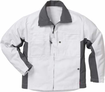 Fristads Cotton Jacket 458 BM (White)